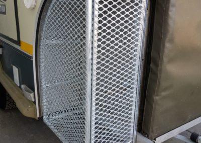 Storage cage for caravan 01